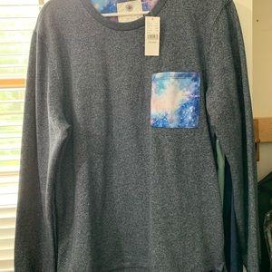 Pacsun lot sweatshirt and jogger shorts